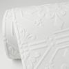 Picture of Brooklyn White Tin Paintable Wallpaper