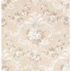 Picture of This Old Hudson Blush Rose Damask Wallpaper