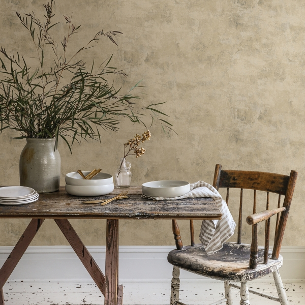 Picture of Artisan Plaster Natural Neutral Texture Wallpaper