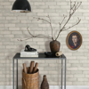 Picture of Limewashed Aged White Brick Wallpaper