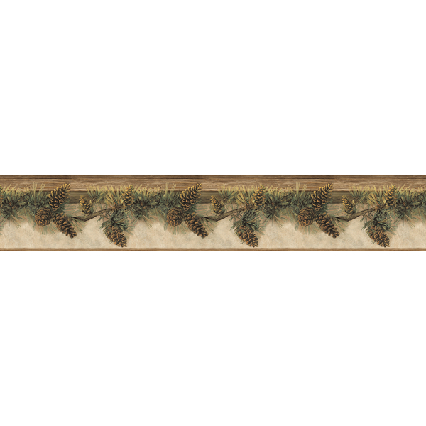 Picture of Pine Hill Chestnut Branches Border