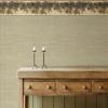 Picture of Kent Seafoam Woven Wallpaper