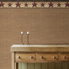 Picture of Kent Red Woven Wallpaper