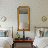 Picture of French Nightingale Seafoam Trail Wallpaper