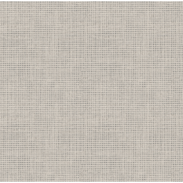 Picture of Nimmie Grey Basketweave Wallpaper