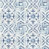 Picture of Sonoma Blue Spanish Tile Wallpaper