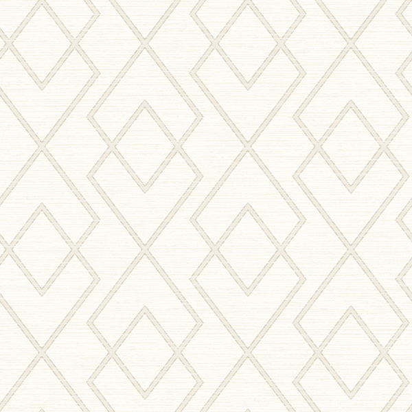 Picture of Blaze Taupe Trellis Wallpaper