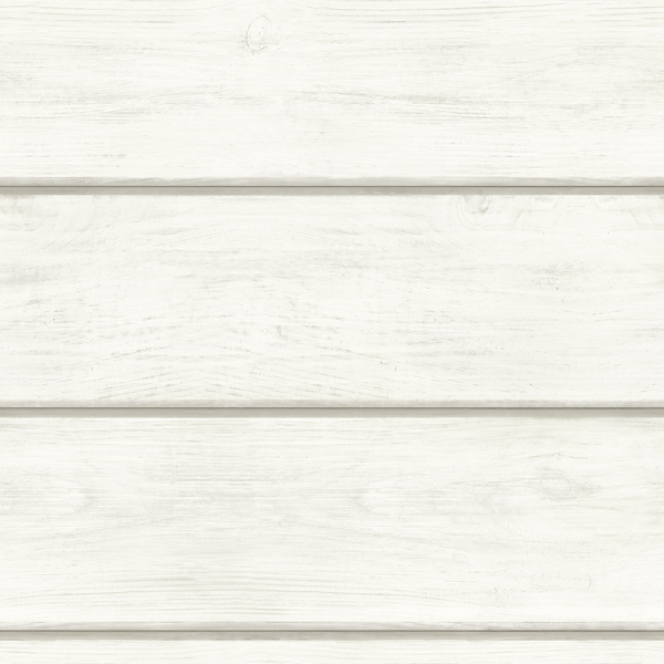 Picture of Cassidy White Wood Planks Wallpaper