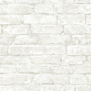 Picture of Arlington White Brick Wallpaper