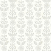 Picture of Dolly Light Grey Dolly Wallpaper