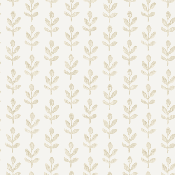 Picture of Whiskers Wheat Leaf Wallpaper