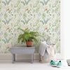 Picture of Imperial Garden Multicolor Botanical Wallpaper