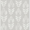 Picture of Garland Grey Block Tulip Wallpaper