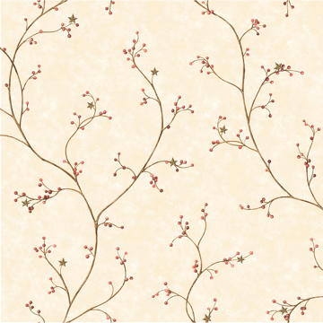 Picture of Justine Khaki Berry Trail Wallpaper