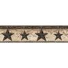 Picture of Ennis Charcoal Rustic Barn Star Border