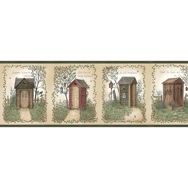 Picture of Fisher Sage Outhouses Border