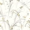 Picture of Meadowlark Yellow Botanical Wallpaper