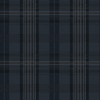 Picture of Austin Navy Plaid Wallpaper