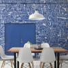 Picture of Bushwick BKLYN Blue Wall Mural