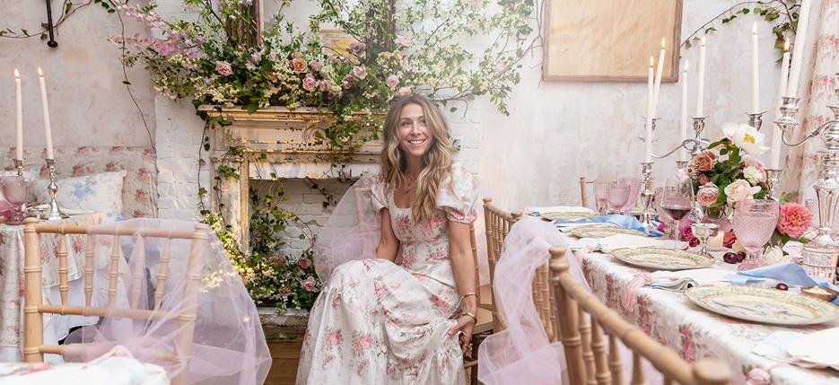 LoveShackFancy's Rebecca Hessel Cohen Brings Romance Home