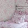 Picture of Everblooming Rosettes Pink Cabbage Rose Bouquets Wallpaper