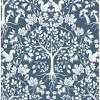 Picture of Leo Navy Tree Wallpaper
