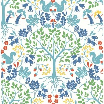 Picture of Leo White Tree Wallpaper