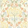 Picture of Leo Cream Tree Wallpaper