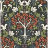 Picture of Leo Black Tree Wallpaper