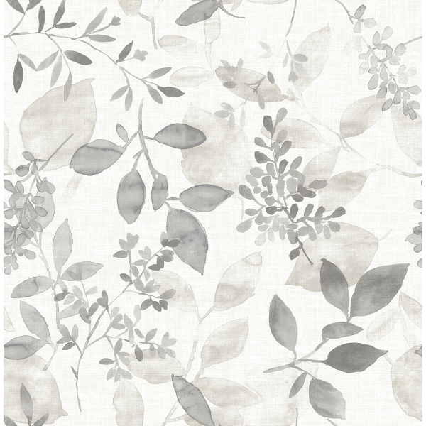 Picture of Grey Breezy Peel and Stick Wallpaper