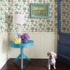Picture of Green Charming Grove Peel and Stick Wallpaper