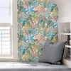 Picture of Pink Rain Forest Canopy Peel and Stick Wallpaper