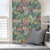 Picture of Grey Rain Forest Canopy Peel and Stick Wallpaper