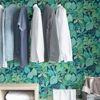 Picture of Blue Rain Forest Canopy Peel and Stick Wallpaper