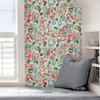 Picture of Tan Sunny Garden Peel and Stick Wallpaper