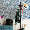 Picture of Blue Jane Peel and Stick Wallpaper