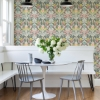Picture of Grey Summer Love Peel and Stick Wallpaper