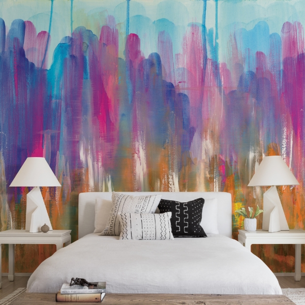 Big Shoulders Wall Mural by Glenyse Thompson
