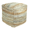 Picture of Upcycled Neutral Pouf Decorative Object