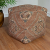 Picture of Bohemian Rust Pouf Decorative Object