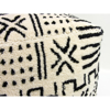Picture of Abstract White Pouf Decorative Object