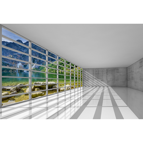 Picture of Empty Interior Wall Mural