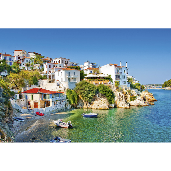 Picture of Greece Coast Wall Mural