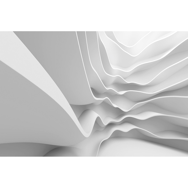Picture of Futuristic Wave Wall Mural