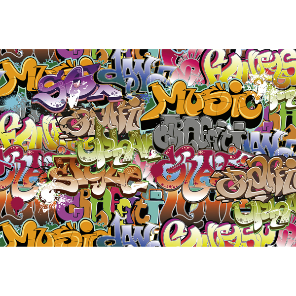 Picture of Graffiti Art Wall Mural