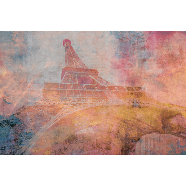 Picture of Eiffel Tower Abstract Wall Mural