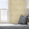 Picture of Yellow Foliole Peel and Stick Wallpaper