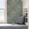 Picture of Grey Kapok Peel and Stick Wallpaper