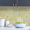 Picture of Yellow Kapok Peel and Stick Wallpaper