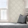 Picture of Cream Moon Rabbit Peel and Stick Wallpaper